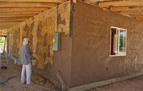 Штукатурка деревянных стен внутри и снаружи дома