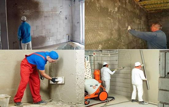 Как выполнить оштукатуривание кирпичной стены своими руками: полная инструкция проведения работ