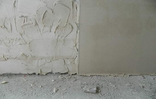 Штукатурка бетонных стен – виды, подготовка, оштукатуривание