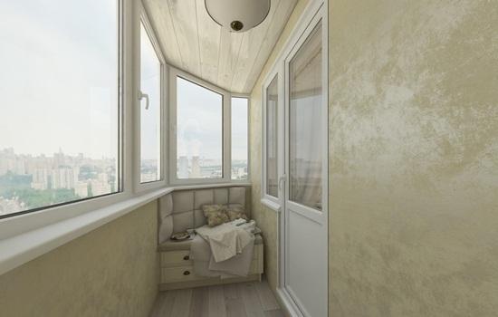 Декоративная штукатурка на балконе – классификация, этапы работы