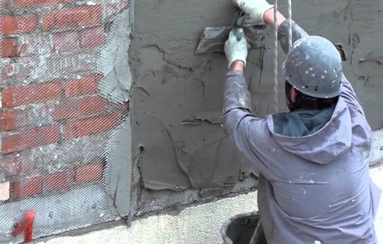 Штукатурка по утеплителю фасада - особенности выполнения работ