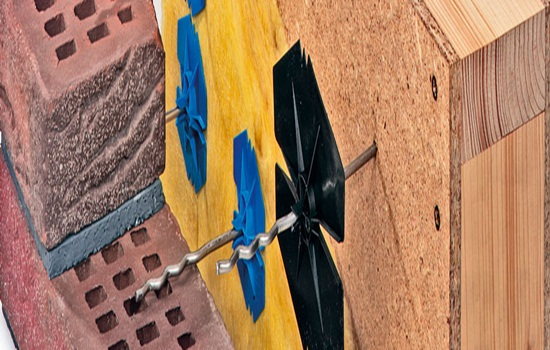 Гибкие связи для кирпичной кладки – правила монтажа