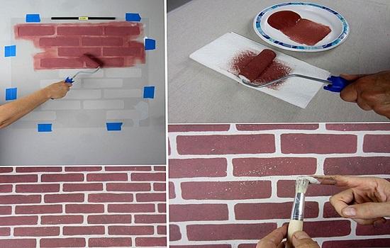 Краска для кирпича – разновидности, проведение ремонтных работ