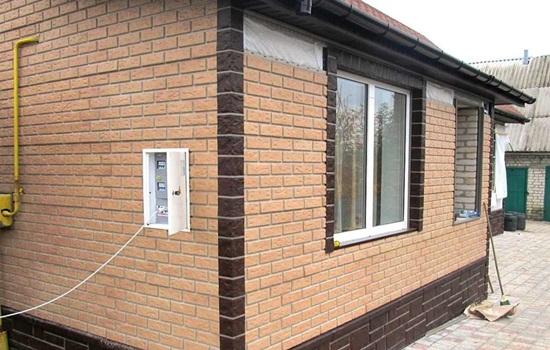 Фасадные панели под кирпич - разновидности, правила монтажа