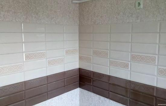 Стеновая панель под кирпич для кухни - особенности монтажа