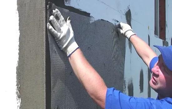 Утеплитель для стен дома снаружи под штукатурку – технология отделки