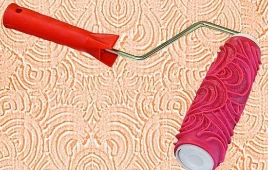 Валики для декоративной штукатурки – технология использования