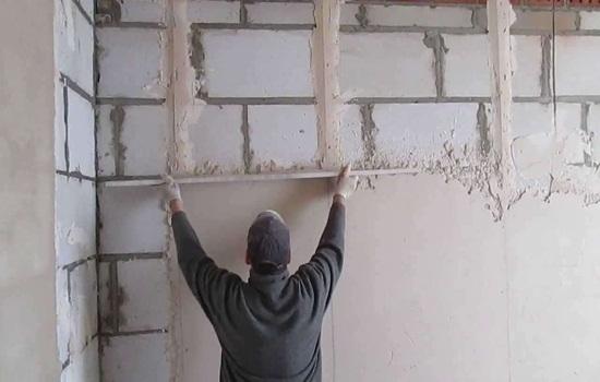 Штукатурка стен гипсовой штукатуркой - как сделать своими руками