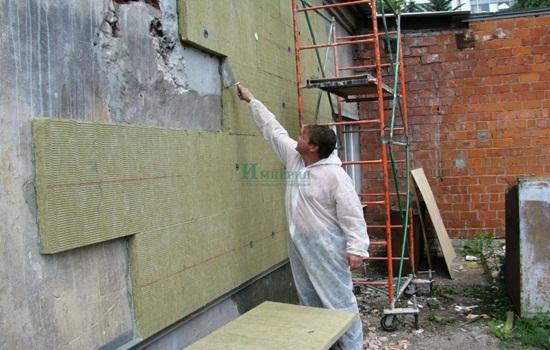 Утепление кирпичной стены пеноплексом снаружи – технология монтажа