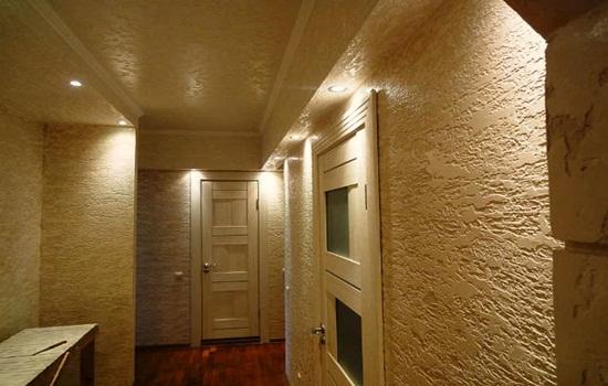 Какую штукатурку выбрать для стен в квартире: цементную, гипсовую