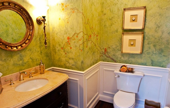Венецианская штукатурка в ванной – методика нанесения