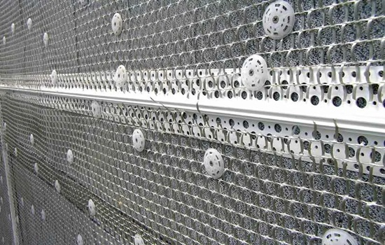 Сетка фасадная под штукатурку – виды, правила выбора, установка