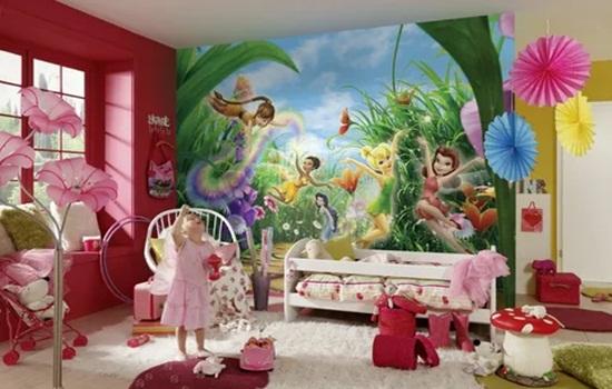 Фотообои для детской комнаты – рекомендации по выбору